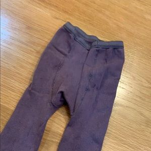 Lili Gaufrette Accessories - Lili Gaufrette Bow 🎀 Tights Size 4-5 Brown/purple